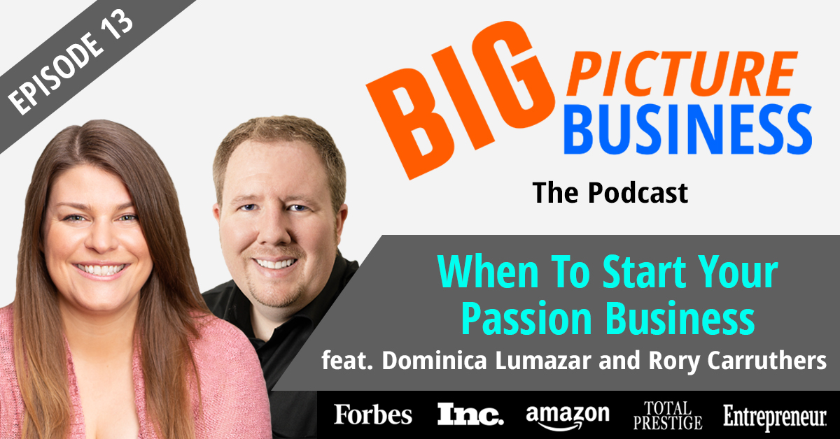 When to Start Your Passion Business