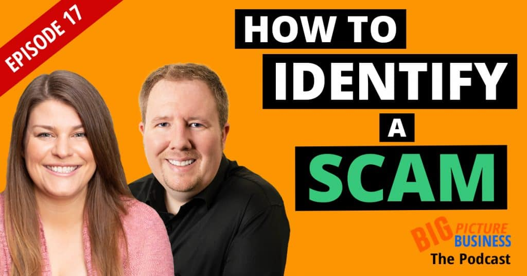 How to Identify a Scam