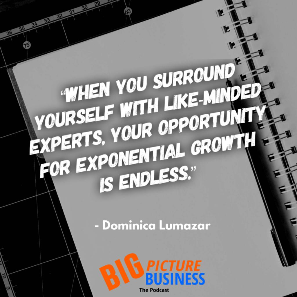 Dominica Lumazar Exponential Growth