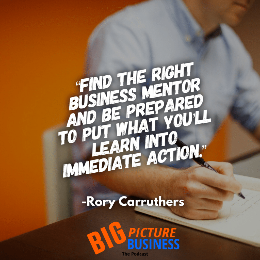 Rory Carruthers Business Mentor