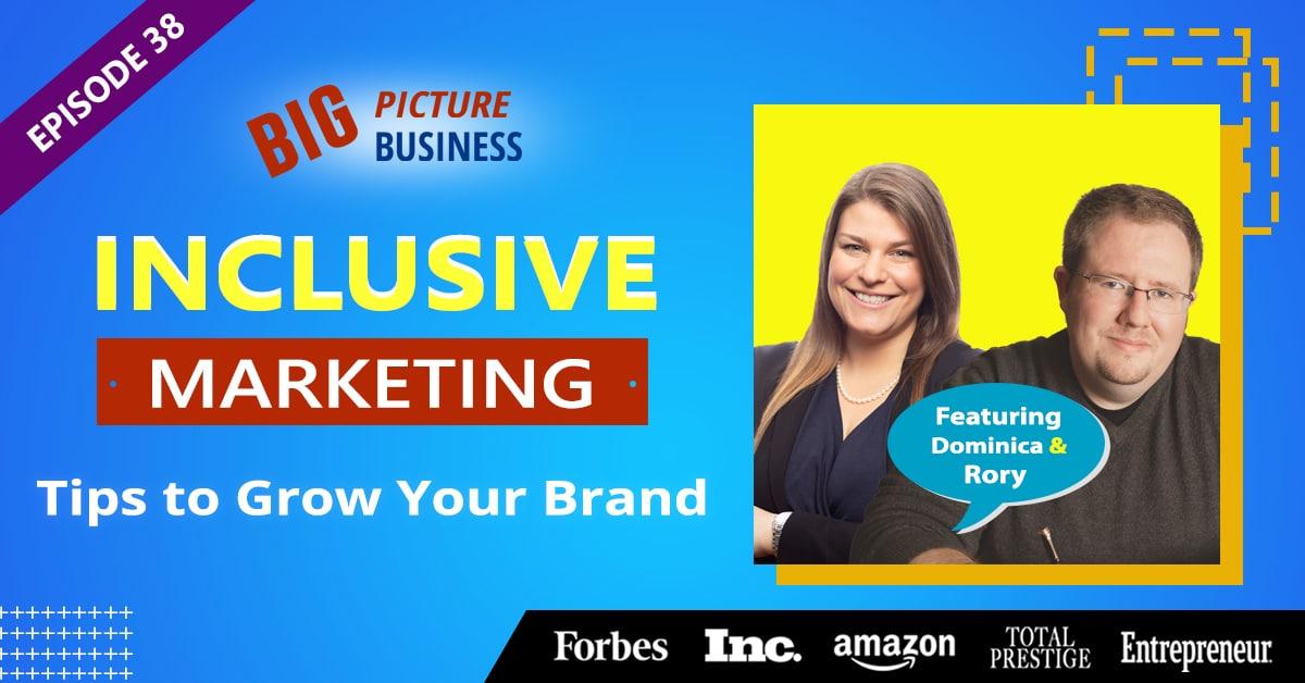 Episode 38 inclusive marketing tips website